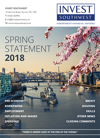Invest Southwest 2018 Spring Statement
