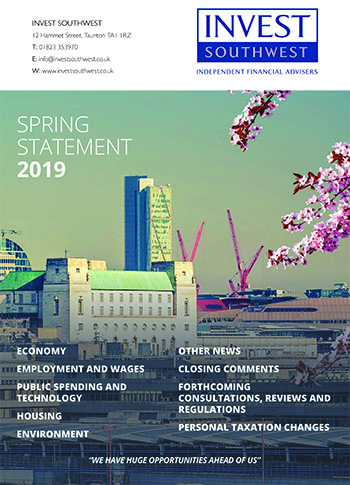 Invest Southwest Spring Statement 2019