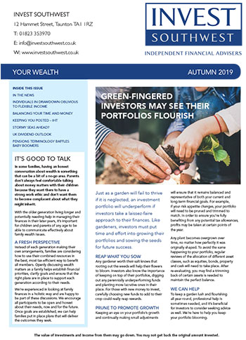 Invest Southwest Autumn 2019 Your Wealth