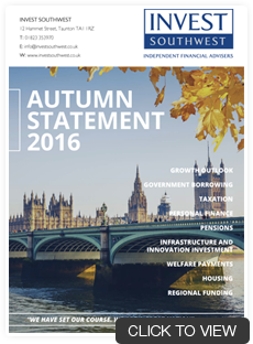 Autumn Statement 2016 - Invest Southwest